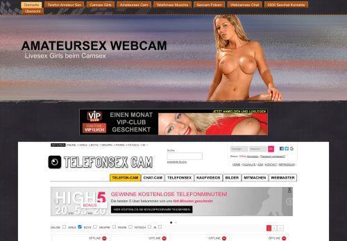 Webcamsex mit Livesex Girls
